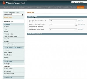Display out of stock products in Magento 1.4