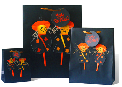Halloin 3D gift bags