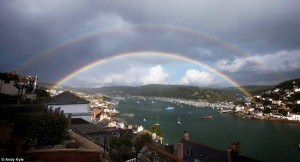 Double Rainbow over Devon