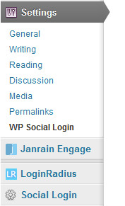 Social login plugins for WordPress